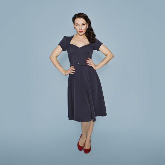 Kleid VALENTINA Kurzarm