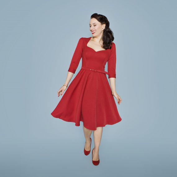 Kleid VALENTINA Langarm
